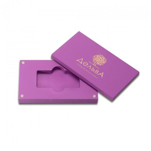 коробка для флеш-пам'яті модель 1 фіолетовий