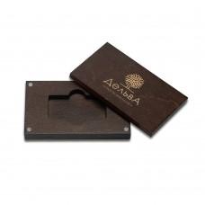 коробка для флеш-пам'яті модель 1 палісандр