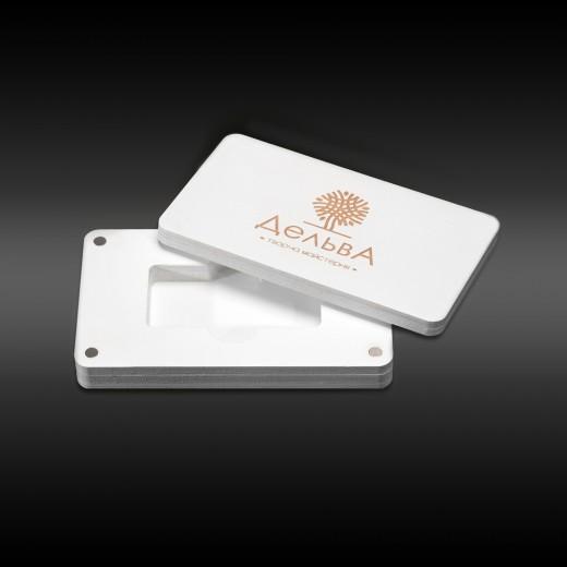 Футляр для флеш-пам'яті модель 2 білий