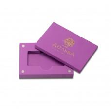 коробка для флеш-пам'яті модель 3 фіолетовий
