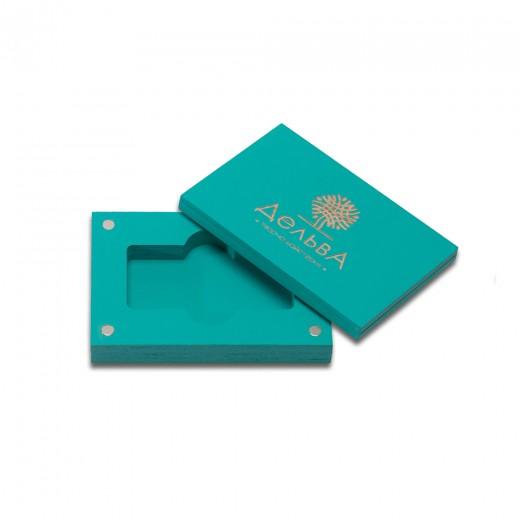 коробка для флеш-пам'яті модель 3 морська хвиля