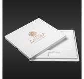 Футляр для фото з відділенням для флеш-пам'яті модель 2 фото 15х21 білий