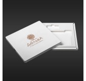 футляр для фото з відділенням для флешки модель 4 фото 10х15 білий