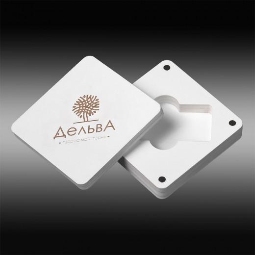 Футляр для флеш-пам'яті модель 6 білий