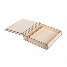 Коробка для фото з відділенням для флеш-пам'яті модель 1 фото 15х21 шліфування