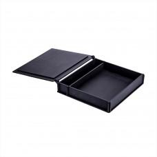 Коробка для фото з відділенням для флеш-пам'яті модель 1 фото 15х21 чорний