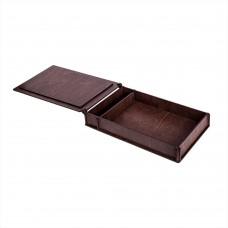 Коробка для фото з відділенням для флеш-пам'яті модель 2 фото 15х21 палісандр