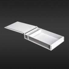 Коробка для фото з відділенням для флешки модель 2 фото 15х21 білий