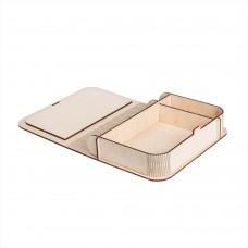 Коробка для фото з відділенням для флешки модель 3 фото 10х15 шліфування