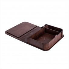 Коробка для фото з відділенням для флеш-пам'яті модель 3 фото 10х15 палісандр