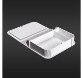 Коробка для фото з відділенням для флеш-пам'яті модель 3 фото 10х15 білий