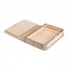 Коробка для фото з відділенням для флешки модель 3 фото 15х21 шліфування