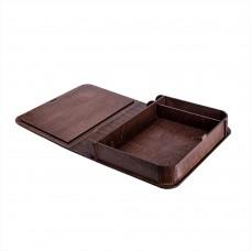 Коробка для фото з відділенням для флеш-пам'яті модель 3 фото 15х21 палісандр