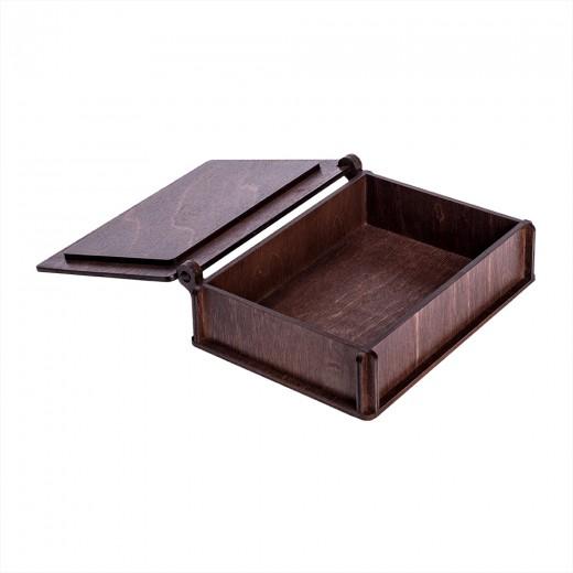 Коробка для фото модель 1 фото 10х15 палісандр