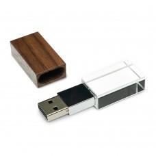 Флеш-пам'ять модель 7 USB 2.0 32 Гб палісандр