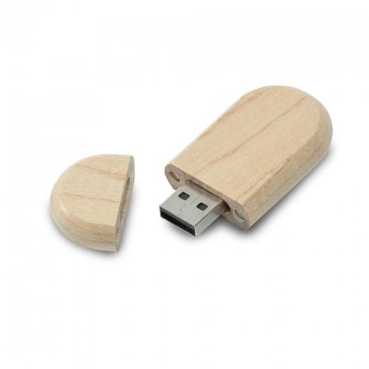 Флеш-пам'ять модель 1 USB 2.0 8 Гб лак