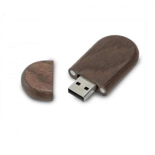 Флеш-пам'ять модель 1 USB 2.0 32 Гб палісандр