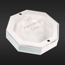 Футляр для флеш-пам'яті модель 10 білий