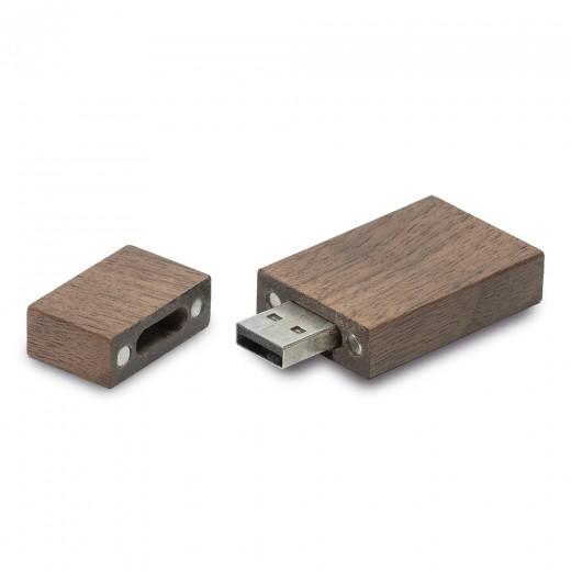 Флеш-пам'ять модель 3 USB 2.0 16 Гб палісандр