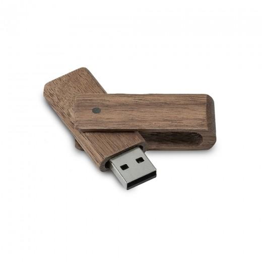 Флеш-пам'ять модель 6 USB 2.0 16 Гб палісандр